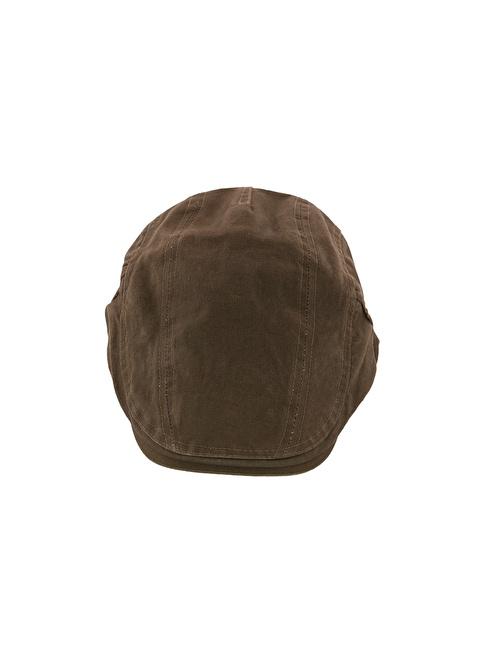 Laslusa Ördek Model Cap Şapka Haki